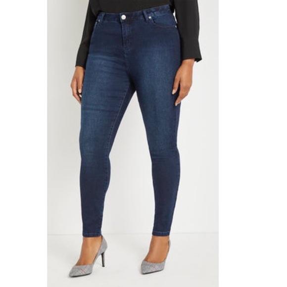 Eloquii Denim - Eloquii dark wash skinny jeans 18 NWT 5458
